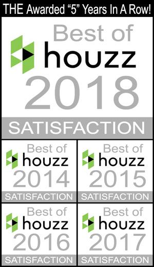 Texas Home Exteriors of Houston Awarded Best of Houzz 2018